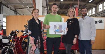 Z elektrické tříkolky se stane pojízdná kavárna pro Charitu Opava