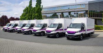 7 nových vozů s izotermickou skříňovou nástavbou Hagemann pro Vězeňskou službu ČR